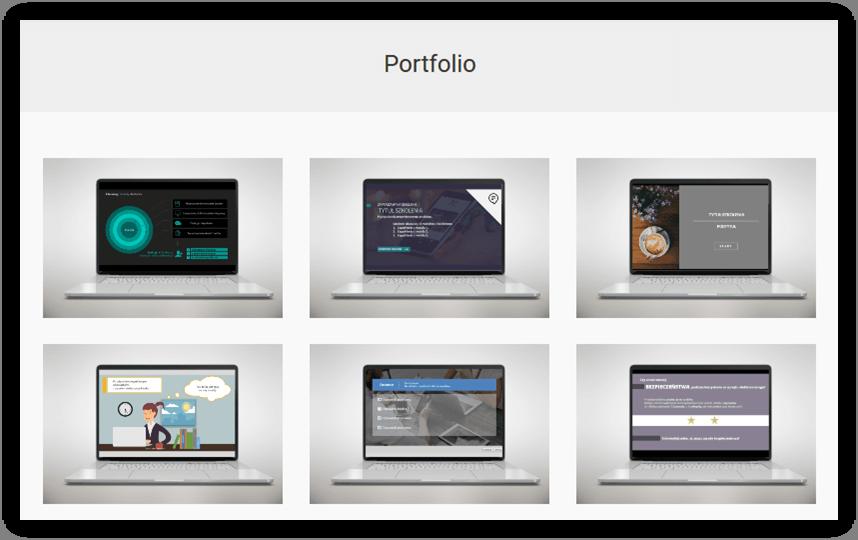 portfolio elearning